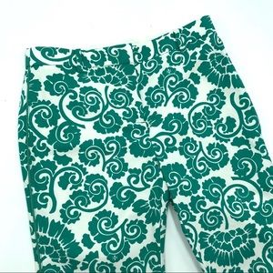 Tory Burch Pants - Tory Burch Walton Paisley Print Straight Leg Pants